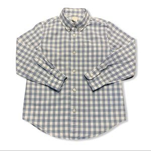 J Crew Crewcuts Patterned Washed Button Down Shirt